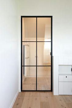 Kitchen Sliding Doors, Glass Partition Wall, Internal Doors, Pivot Doors, Hallway Decorating, Apartment Design, Small Apartments, Door Design, Glass Door