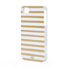 Gold Stripes iPhone Case