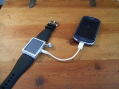 Wearable Phone Chargers - The Carbon Precision Solar iPhone Charger Makes Sense (GALLERY)