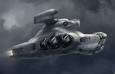 gun ship by ProgV.deviantart.com on @deviantART