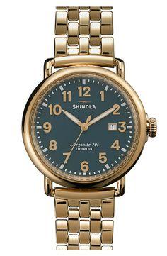 Shinola Bracelet Watch