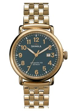 Shinola Bracelet Watch