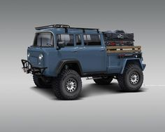 really nailed the rendering for the Quad Cab Forward control . really nailed the rendering for the Quad Cab Forward control . Mini Trucks, New Trucks, Custom Trucks, New Suzuki Jimny, Jeep Concept, Design Industrial, Vanz, Toyota Hiace, Automobile