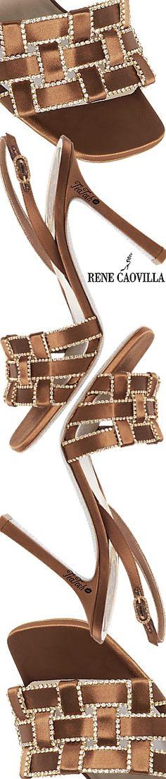 ❈Téa Tosh❈ #RenéCaovilla SANDALS WITH BRAIDS JULIETTE #teatosh Fashion Illustration Shoes, Brown Outfit, Beautiful Heels, Rene Caovilla, Brown Fashion, Tartan, Fashion Shoes, Classy, Booty