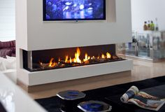 Gas Fireplace Inserts With Tv Above