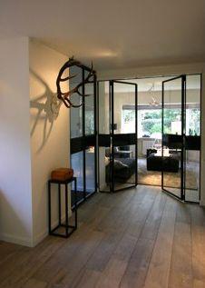 Doors in steal & glas