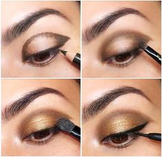 tutorial maquiagem festa - Google Search