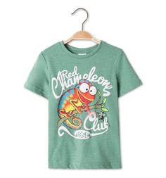 Camiseta de manga corta en verde