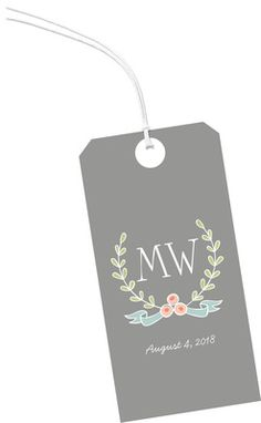 Sweet Love Vertical Hanging Gift Tags