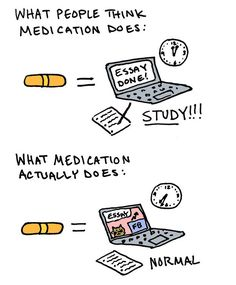 Medication doesn't give us an advantage — it just levels the playing field. | 35 Things People With ADHD Want Everyone Else To Know