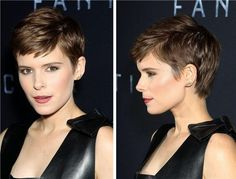 Image result for kate mara pixie cut
