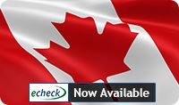 E-CHECK NOW AVAILABLE FOR PLAYERS: Great news for all Canadian players! We have now enabled eCheck as a withdrawal method on both our brands: GoWild. With eCheck it will be much easier to make funds transfers. Players will receive winnings on their registered bank account much faster and free of charge.
