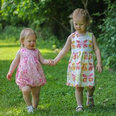 Downloadable PDF sewing patterns for baby, children, girls and ...