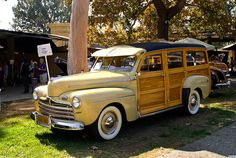 1946 Ford Super Deluxe Station Wagon..Re-pin brought to you by agents of #Carinsurance at #Houseofinsurance in Eugene, Oregon