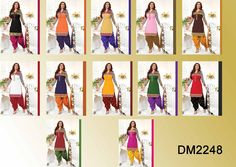 Catalog Name : DM2248    Designs : 12 MOQ : Full Catalog  http://www.ekhantil.com/beautiful-designer-dress-material-wholesale/