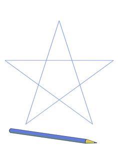 Comment dessiner une etoile sans compas craft etoile dessin comment dessiner une toile et - Comment dessiner une star ...