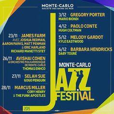 #Rocher Découvrez la programmation de la 10ème édition du Monte Carlo Jazz Festival #MCJF #MyMonteCarlo by myconciergeworldwide from #Montecarlo #Monaco