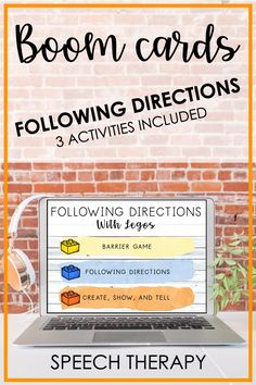 Social Skills Activities, Speech Therapy Activities, Language Activities, Receptive Language, Speech And Language, Hands On Learning, Learning Through Play, Card Deck, Deck Of Cards