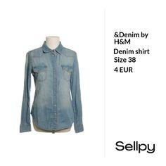 &Denim by H&M Denim shirt