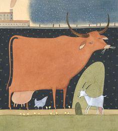 Просмотреть иллюстрацию Kuh из сообщества русскоязычных художников автора Elena Walf в стилях: Классика, нарисованная техниками: Другое.