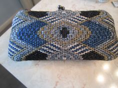 Purse I stitched for Stacey's wedding