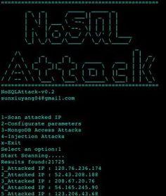 NoSQLAttack – tool to automate exploit MongoDB server IP on Internet. Kali Linux Hacks, Sql Injection, Computer Setup, Open Source, Internet, Technology, Tools, Math, Python