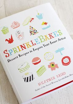 Need this book -  I can bake, but I can't decorate my goodies that well, and she has tons of tips and tutorials.