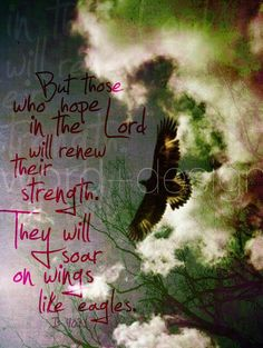 Isaiah 40:31 - Strength Renewed!