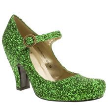 Such amazing shoes! They have them in other colours, but that green is so dreamy.