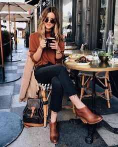 f5c74a025d3 40 Trending Winter Women Style Casual Weekend Outfit · Tägliche OutfitsFall  Outfits 2018Fall ...