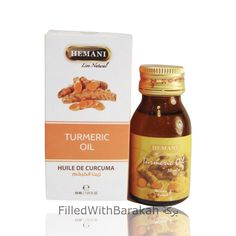 Turmeric Oil 100% Natural   Essential Oil 30ml   Hemani (Pack of 3 or 6 Available) - Box Of 6