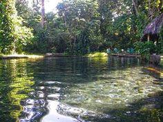 Ojo de agua, Isla de Ometepe, Nicaragua.