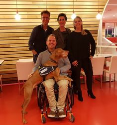 Congratulations and a very warm welcome in our community to the new S.C.I.L.Master in the Netherlands: Sara van Broekhoven, Kim van Stippent en Niek van den Adel with Joep, the dog. And thx to Richard de Hoop for the succesfull certification process.