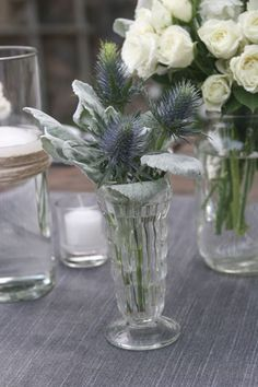 Another flower cluster from Mandy and Pete's wedding. Very rustic yet dreamy Haiku Mill wedding!