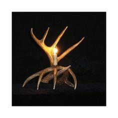 鹿角テーブルランプ 卓上照明 鹿角照明 テーブルライト 間接照明 樹脂製 茶褐色 1灯 LED対応