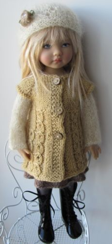 Hand knit sweater outfit
