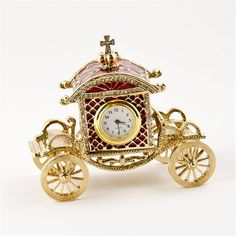 Faberge Trinket Box and Clock Jewellery Boxes, Jewelry Box, Jewlery, Unique Jewelry, Faberge Jewelry, Classic Clocks, Instruments, Coach Jewelry, Faberge Eggs