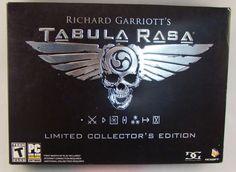 Richard Garriott's Tabula Rasa: Collector's Edition (PC, 2007)