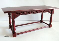 """JBM refectory table or as the company that makes it confusingly calls it """"Refractory table"""". . . sadly tables are rarely obstinate."""