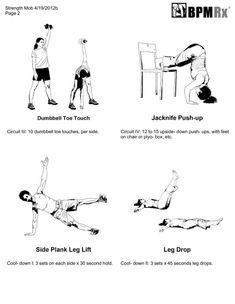 24 Best Physical Therapy Exercises For Lower Back images