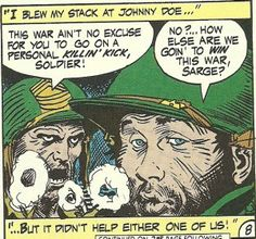 The Year in Comics, Week 11: Head Count by Robert Kanigher & Joe Kubert | Sequart Research & Literacy Organization