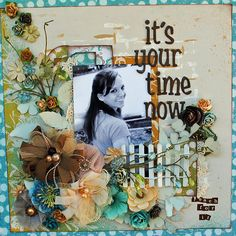 superb LO #scrapbooking