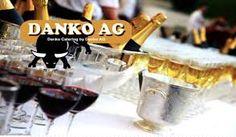 Logo Catering, Red Wine, Alcoholic Drinks, Logo, Fine Dining, Creative, Logos, Logo Type, Gastronomia