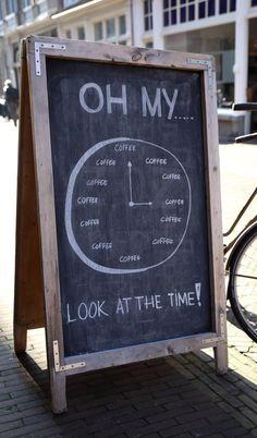 Bij Brandmeester's in Haarlem is het altijd een goed moment voor een lekkere koffie.