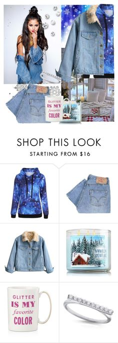 """#Celebrity Style"" by detroitgurlxx ❤ liked on Polyvore featuring Levi's, Kate Spade and KC Designs"