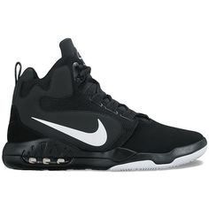 Nike Air Conversion Men's Basketball Shoes ($90) ❤ liked on Polyvore featuring men's fashion, men's shoes, men's athletic shoes, shoes, men, oxford, mens shoes, mens lightweight running shoes, mens lace up shoes and mens breathable shoes