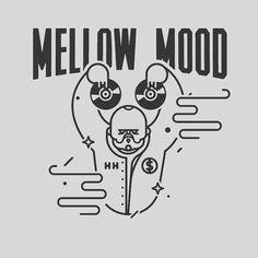 Design of characters. #icon #line #design #symbol #face #art #cartoon #illustration #monkey #sound #mellowmood #music #dj #ochoa  www.rafasanemeterio.com