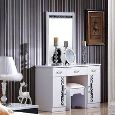#Customized dressing tables with irresistible #designs. Order now: www.vcues.com