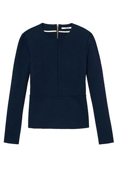 THE BAZAAR: Navy Reserve - J Brand top, Bergdorf Goodman; 888-774-2424.