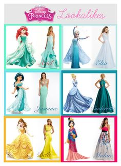"""Disney Princess Lookalikes!"" by camillelavie ❤ liked on Polyvore featuring Disney, modern, women's clothing, women, female, woman, misses and juniors"